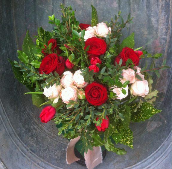 Miranda Hackett Flowers Valentine Bouquet