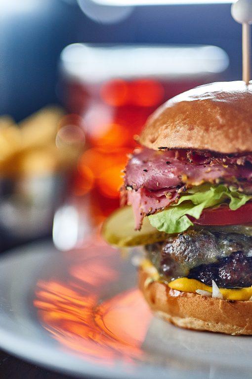 the crown bray pastrami burger