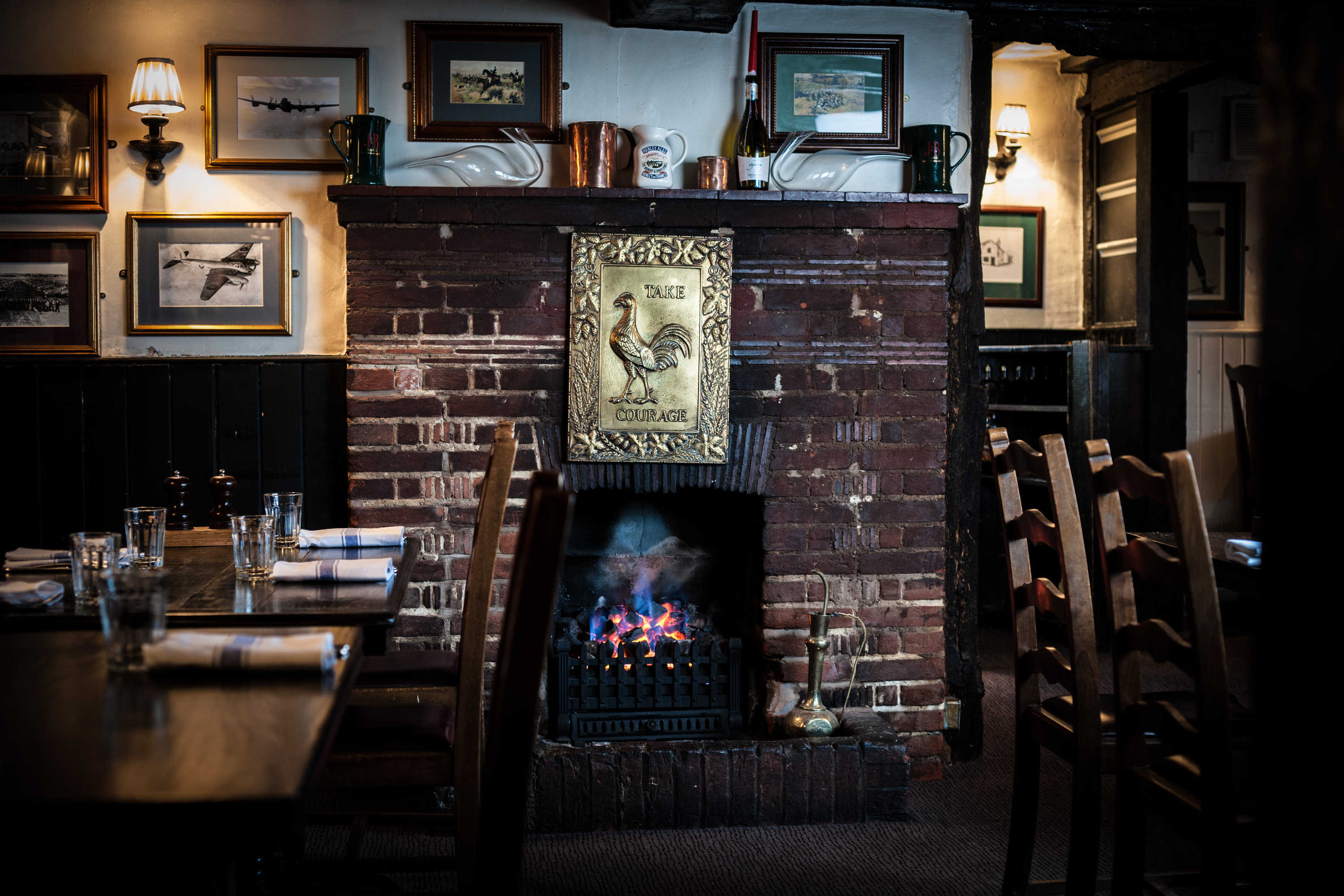 The Crown Cosy Fire