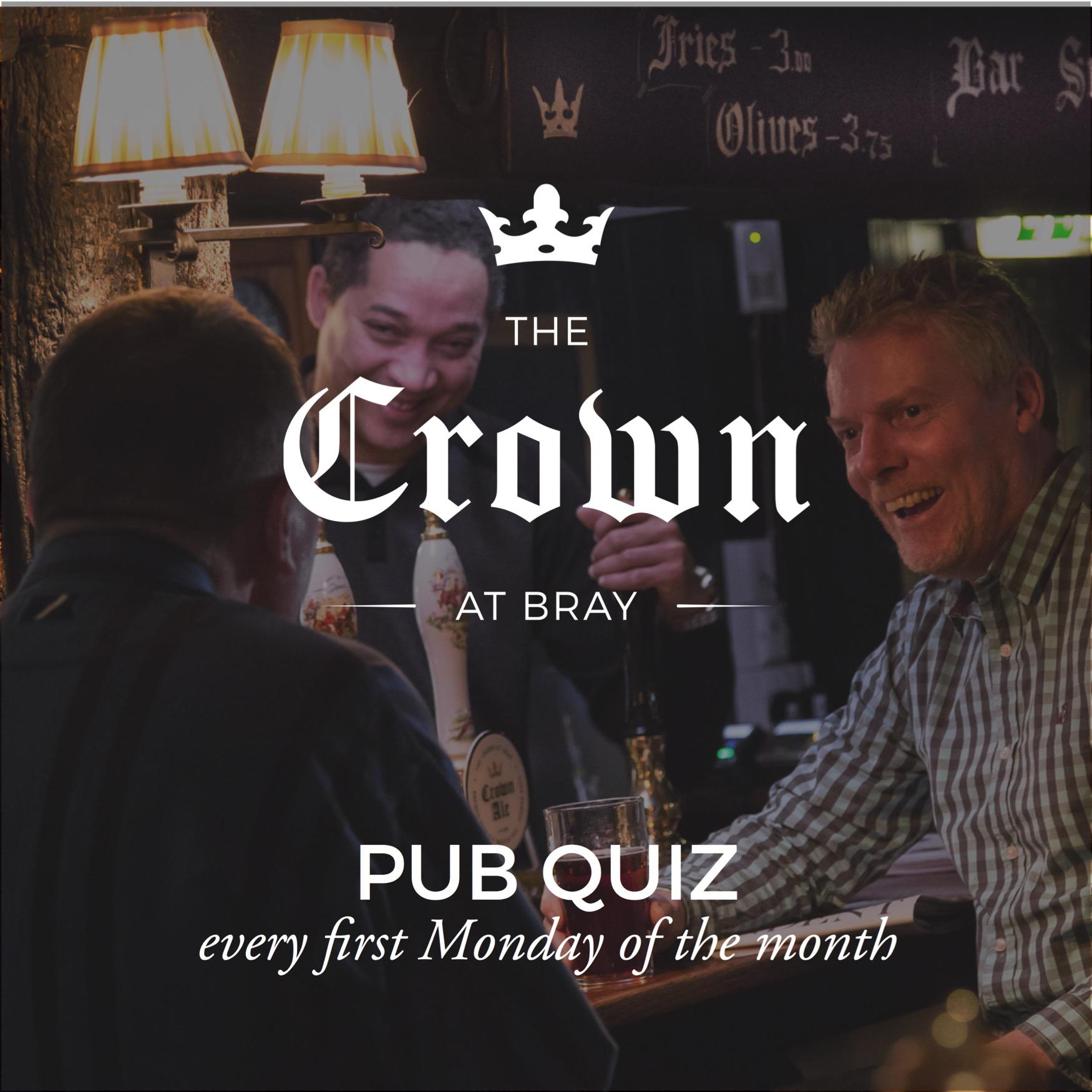 Pub Quiz The Crown at Bray